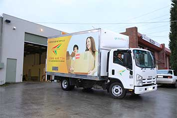 4 Tonne Moving Truck