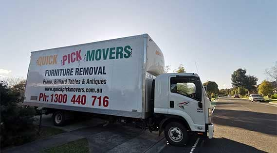 Furniture Removals Anderson to Melbourne