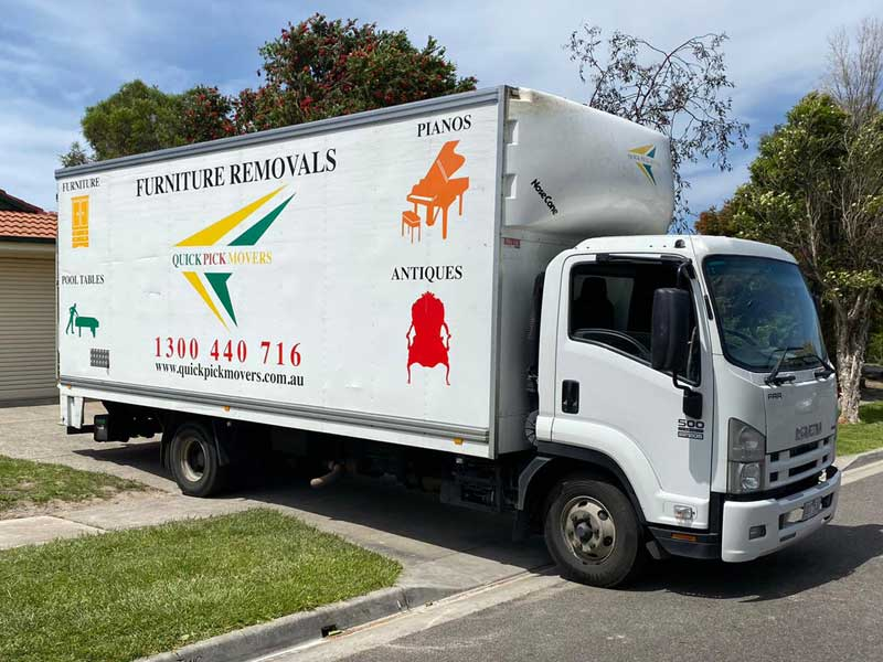 Furniture Removals Lysterfield