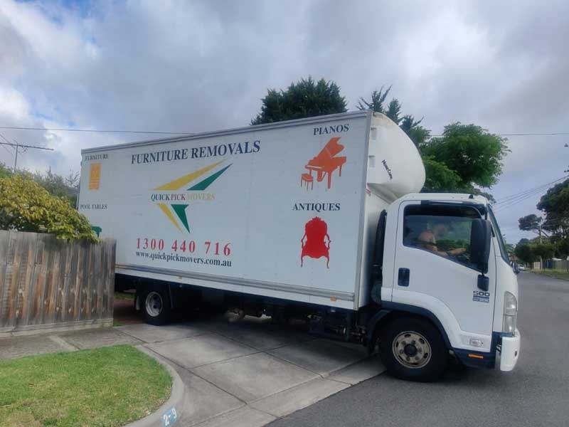 Furniture Removals South Wharf