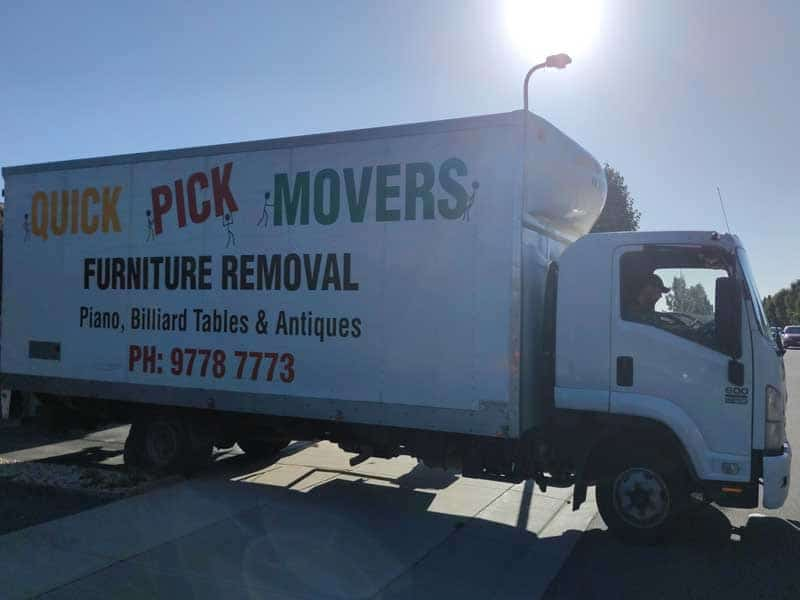 Furniture Removals West Melbourne