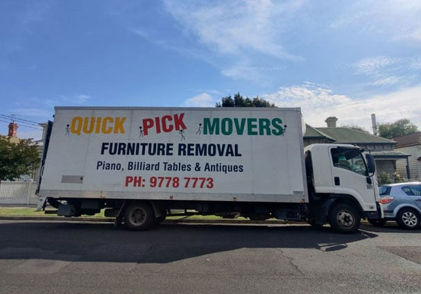 House Move in Montmorency