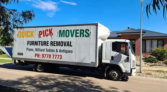 Removals Melbourne to Browns Plains