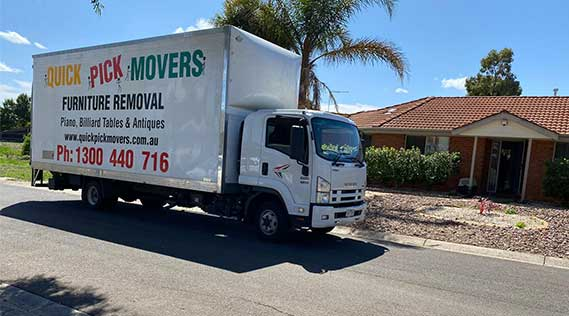 Removals Melbourne to Cowes