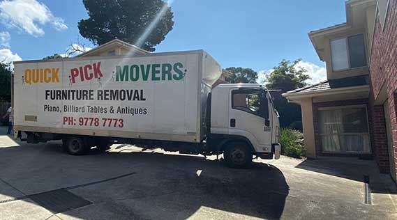 Removals Melbourne to Lismore
