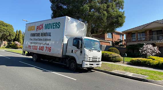 Removals Melbourne to Morwell