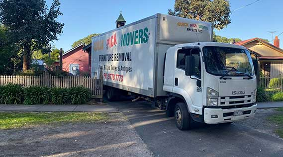 Removals Melbourne to Portland
